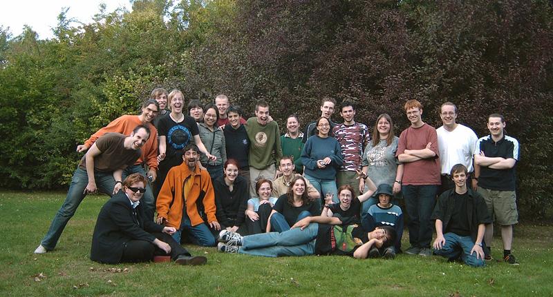 Gruppenbild WBT 2004