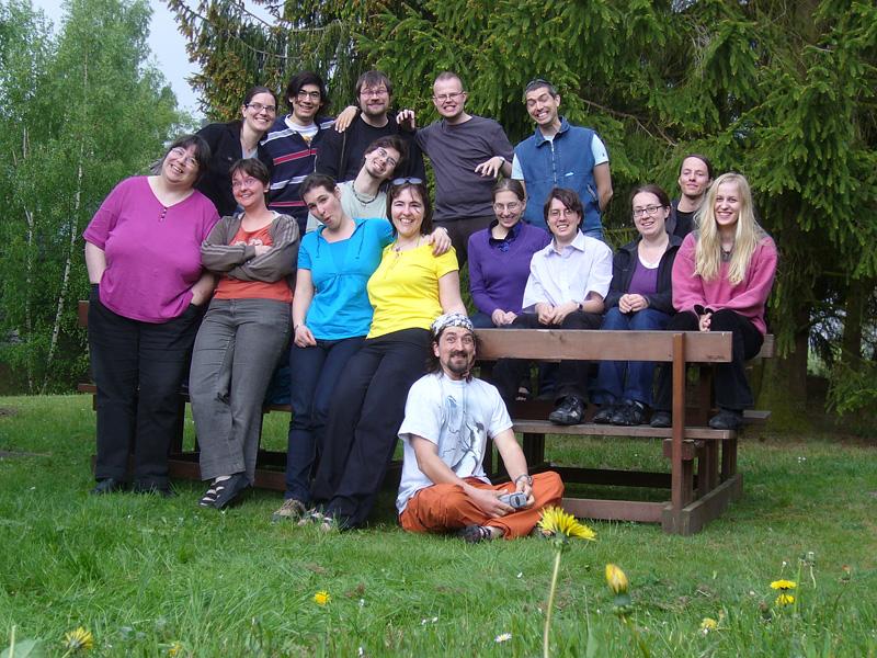Gruppenbild FJT 2009 2