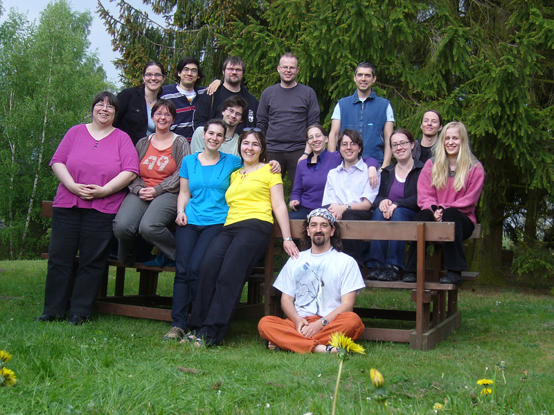 Gruppenbild FJT 2009